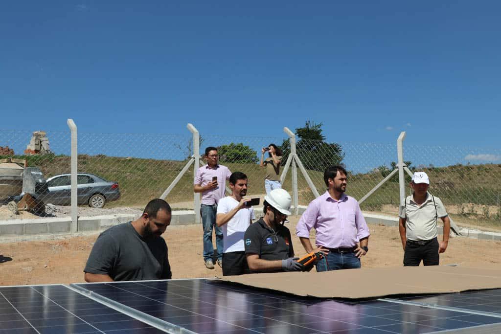 Campinas tem primeira micro usina solar com tracker da região